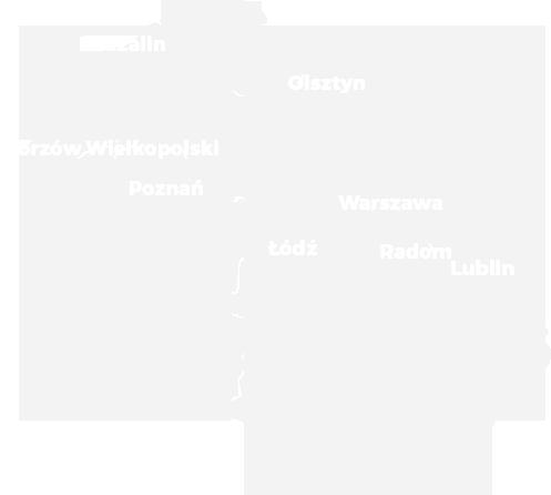 mapa koncertów