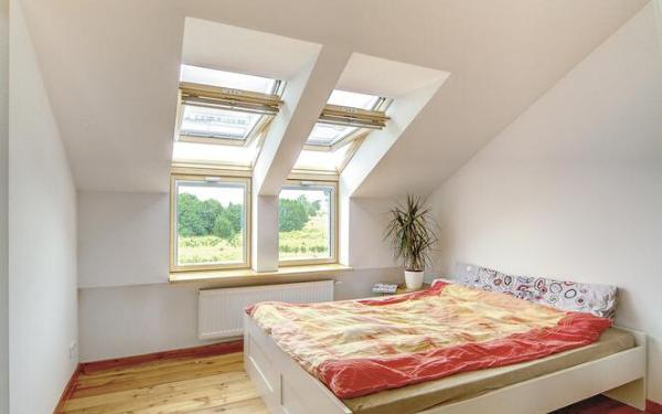 Okna kolankowe i okna połaciowe w dachu bez okapu