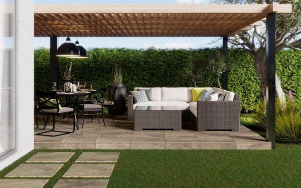 Zadbany taras, piękny ogród, oryginalny podjazd. Nowe kolekcje płytek 2.0 od marki Cerrad